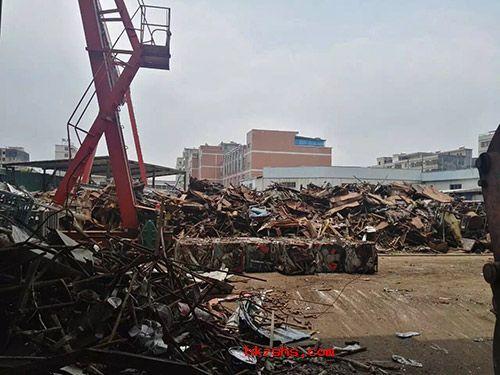 惠州废钢铁回收加工